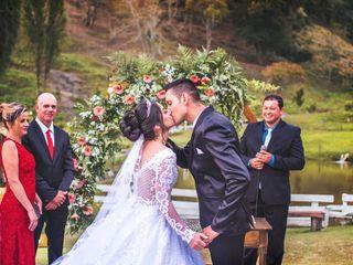 O casamento de Aline e Fernando