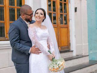 O casamento de Giulliano e Jacqueline