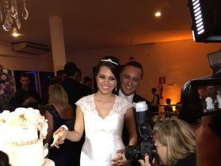 O casamento de Cinthia e Gil