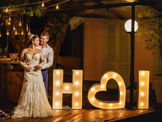 O casamento de Hevelyn e Ian