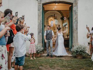 O casamento de Delphine e Cedric