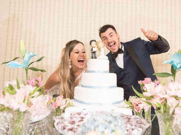 O casamento de Sandra e André