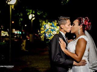 O casamento de Evelyn e Márcio