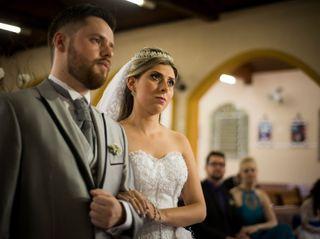 O casamento de Evellyn e Cleverson