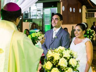 O casamento de Aquiles e Thais 1