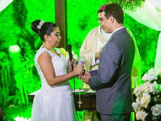 O casamento de Aquiles e Thais 2