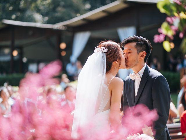 O casamento de Nina e Samuel