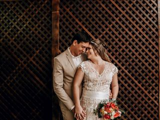 O casamento de Gisele e Rodrigo