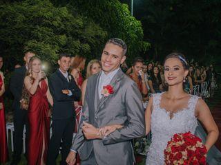 O casamento de Samara e Robert