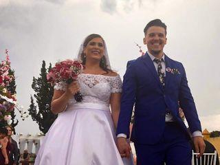 O casamento de Tainá  e Jean