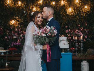 O casamento de Taina e Jalon