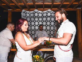 O casamento de Milena e Alessandro