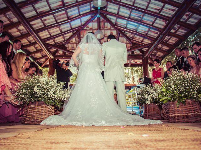 O casamento de Leila e João