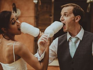 O casamento de Jaqueline e Graham