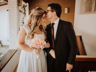 O casamento de Larissa e Arthur