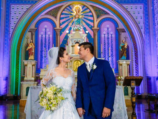 O casamento de Andryelle e Fabiano