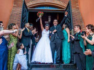 O casamento de Cinthia e Paulo
