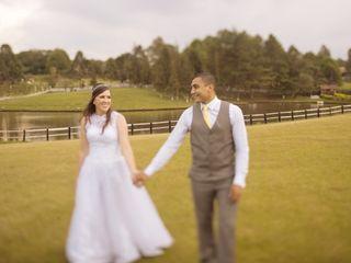 O casamento de Janine e Henrique