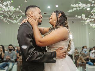 O casamento de Quezia e Hilquias