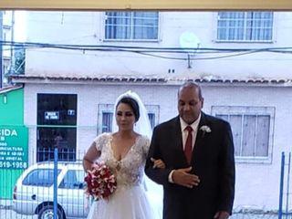 O casamento de Izabela e Thiangre  2
