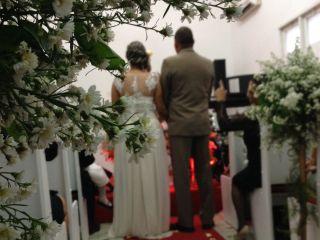 O casamento de Karla e Marcos