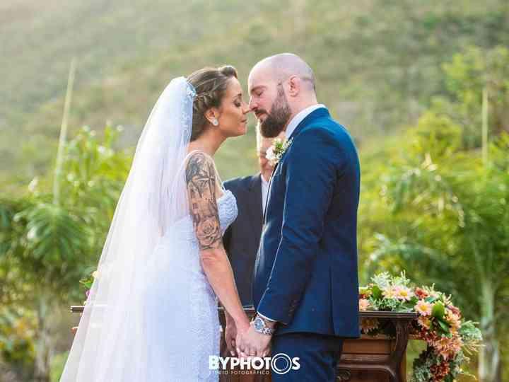O casamento de adriana vilela e marcelo macintyre