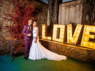 O casamento de Andrielly e Alison