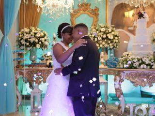 O casamento de Giuliana e Matheus