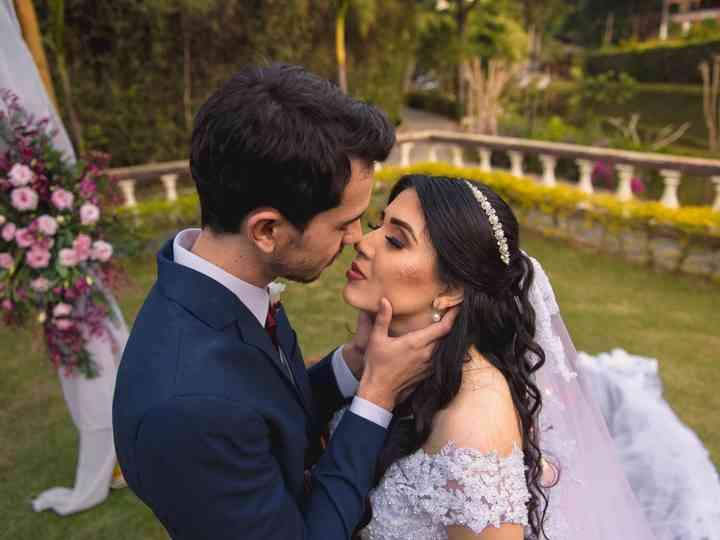 O casamento de Jéssica e Gustavo