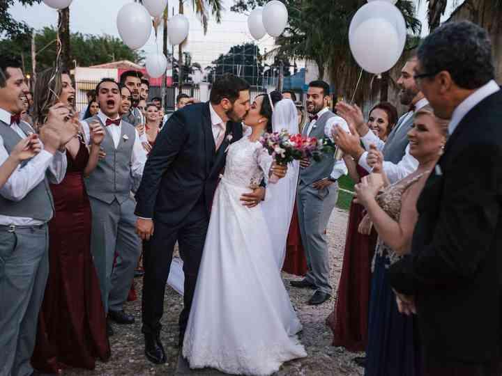 O casamento de Kamila e Luis Felipe