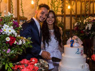 O casamento de Charles e Lhaís