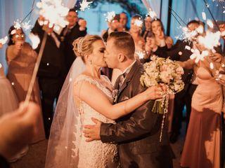 O casamento de Lúcia e Fabio