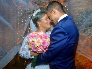 O casamento de Zilda e Jailson