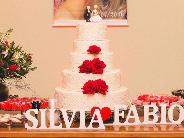 O casamento de Silvia e Fábio