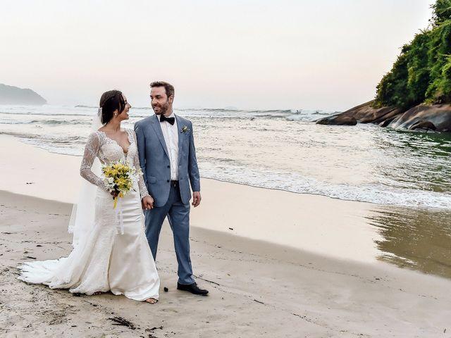 O casamento de Lillian e Simon
