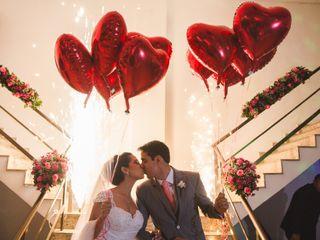O casamento de Roberto e Bruna