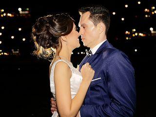 O casamento de Carla e Leandro