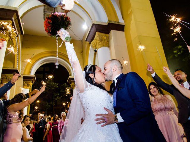 O casamento de Francielle e Tiago