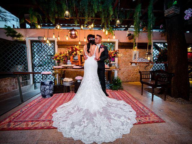 O casamento de Fernanda e Regis