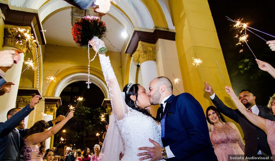 O casamento de Tiago e Francielle em Santo André, São Paulo