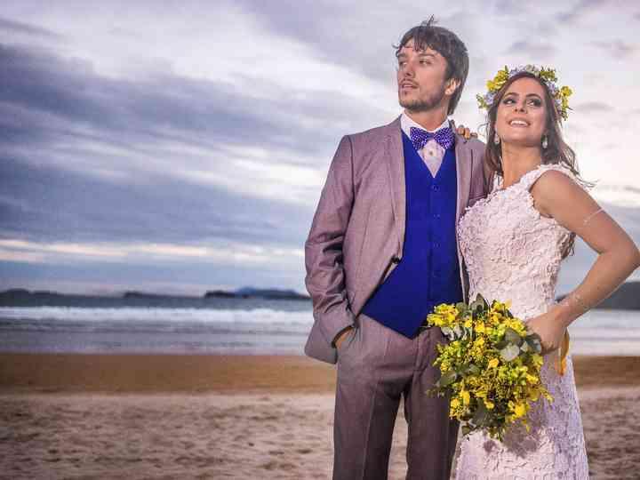 O casamento de Raíssa e Gabriel