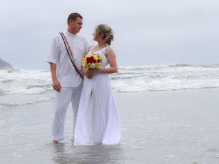O casamento de Caroline e Rafael