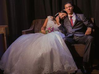 O casamento de Alba e Luiz