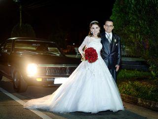 O casamento de Liana e Odair