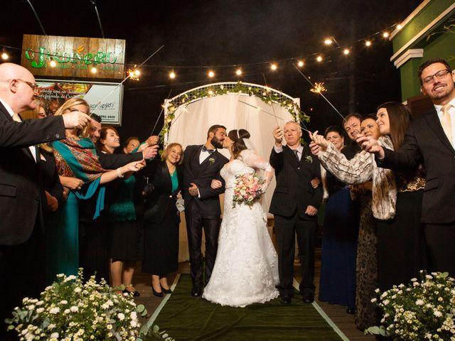 O casamento de Monalisa e Gabriel