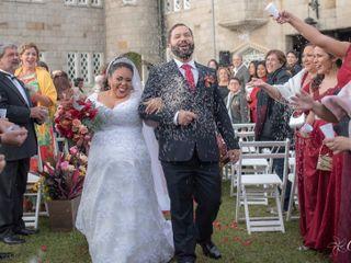 O casamento de Isis e Filipe