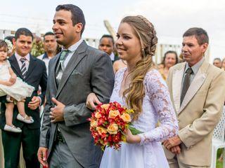 O casamento de Tainá e Alan