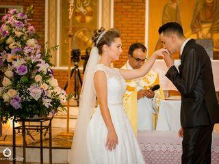 O casamento de Christian e Aline