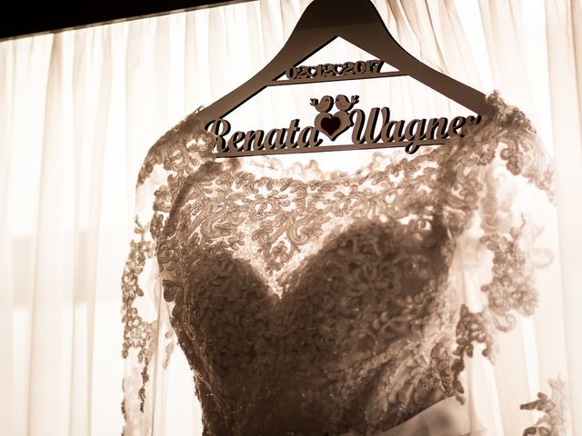 O casamento de Renata e Wagner