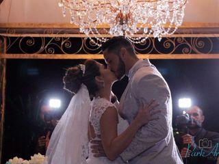 O casamento de Camila e Fabiano